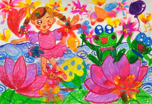 3-CHAN CHI LAM, 4 years old, school of creativity, Hong Kong