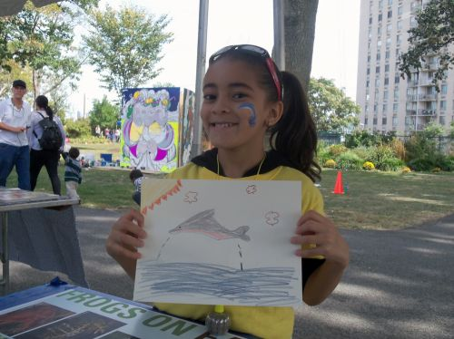 Dolphin drawing to match this girls dolphin face painting