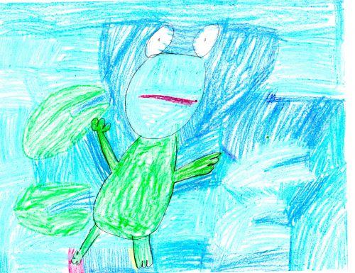 Margaret K, 7 yrs old, Wallace School, Hoboken, NJ USA