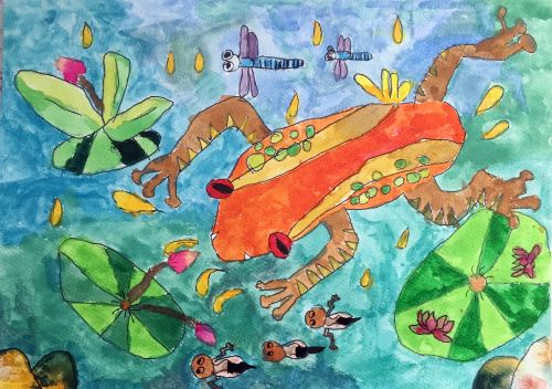 1-Chan Yan Kiu Karstyn, 5 yrs old, Hong Kong, Arttra.