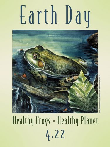 Earth Day - Healthy Frogs