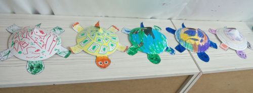 peaceful-frogs-students-create-3d-turtles-in-hoboken-with-art-teacher-susan-newman