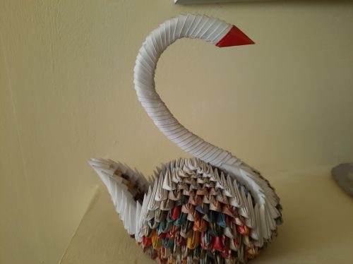 Georgescu Alexandra, 15 years old, Romania, Earth Day 2020 art from recycled materials