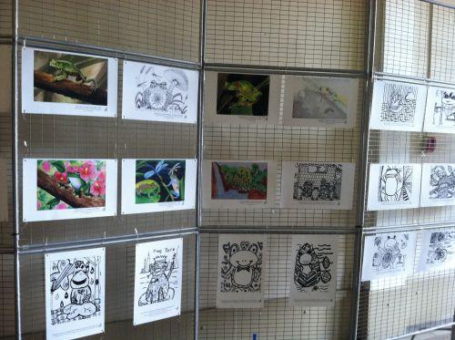 Hoboken-city-hall-displays-frog-art