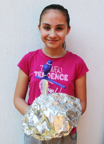 Viara Pencheva, 10 years old, Bulgaria, 2020