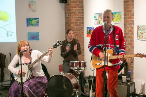 The Gully Hubbards at Green Dream's Save the Frogs Day event. Hosted by Frogs Are Green at The Distillery Gallery. Photo by Danny Chong.